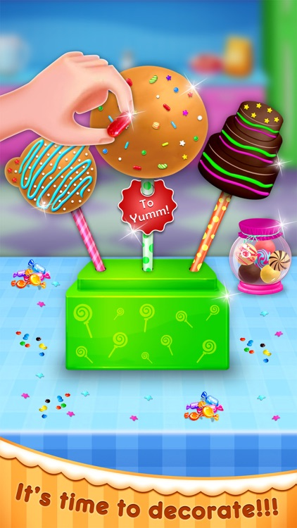 Sweet Cake Pop Maker - Cooking
