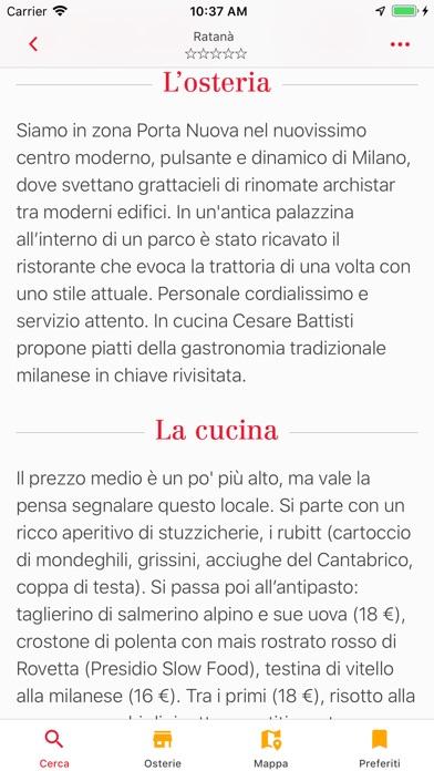 Osterie d'Italia 2019