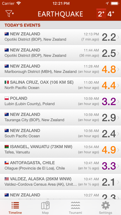 Earthquake Screenshot