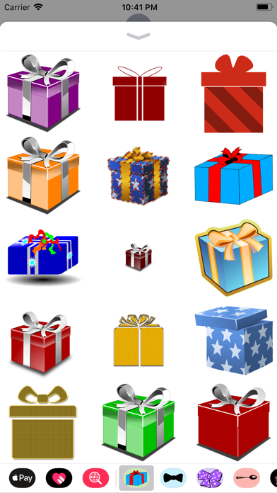 Gift Box Sticker Pack screenshot three