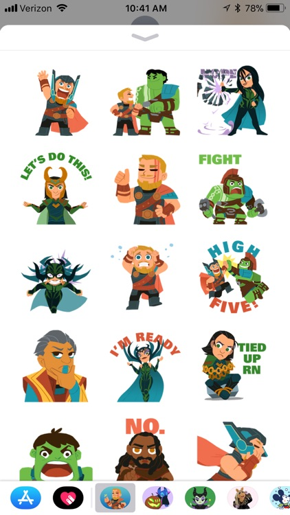 Marvel Stickers: Thor Ragnarok screenshot-0