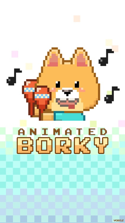 Animated Borky Stickers