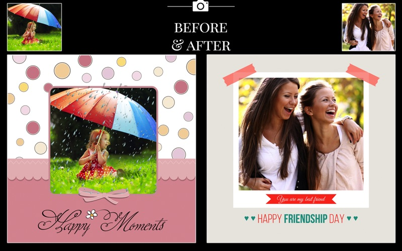 Birthday Cards Maker - Collage screenshot 4