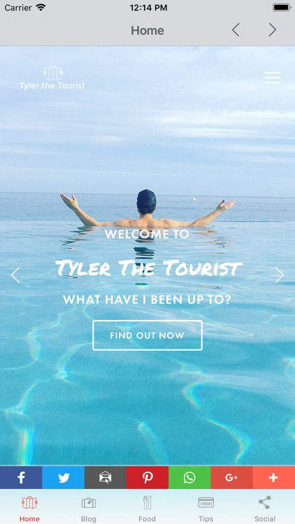 Tyler the Tourist - The App screenshot-0