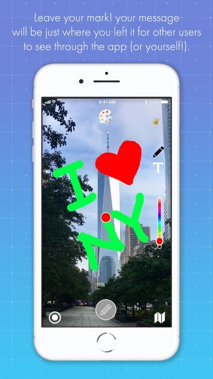 HideMessage AR screenshot-3
