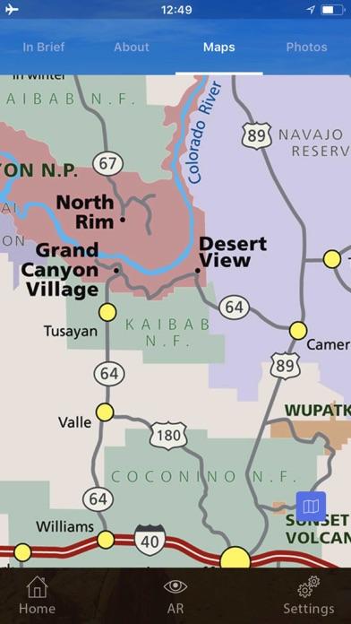 科羅拉多大峽谷 - 大峽谷國家公園屏幕截圖5