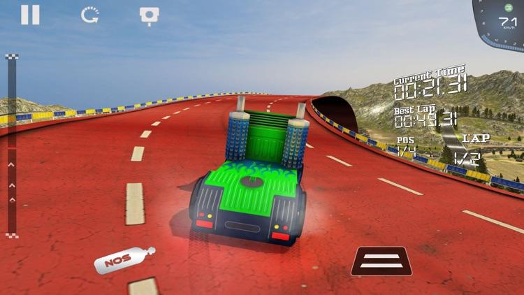 Heavy Truck Racing Challenge screenshot-4