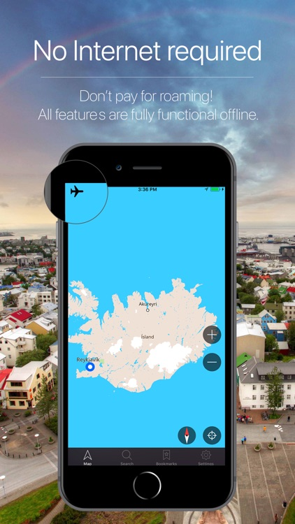 Iceland Offline Navigation screenshot-0