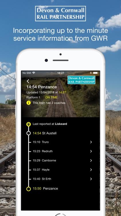 Cornwall Train Times