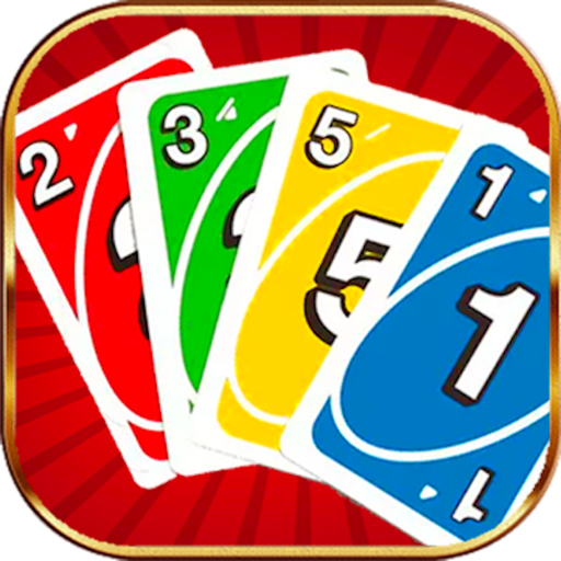 Four Color Uno Card
