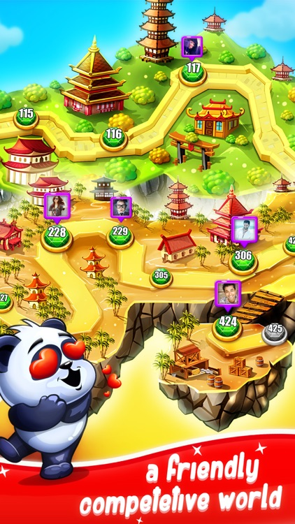 Panda Gems - Match 3 Game screenshot-2