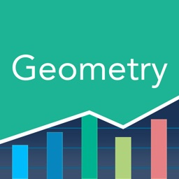 Geometry Prep: Practice Tests, Flashcards
