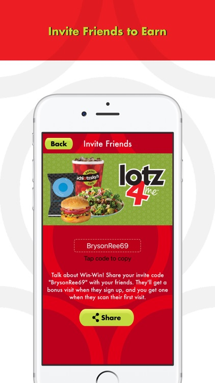Schlotzsky's Lotz4Me Guest Rewards Program screenshot-3