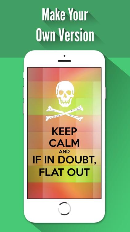 Keep Calm Creator,Poster Maker screenshot-4