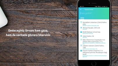 Screenshot for DeGelsin Taxi in Azerbaijan App Store
