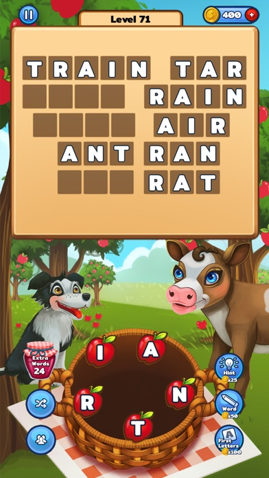 Image of Word Farm - Search Puzzle Game for iPhone