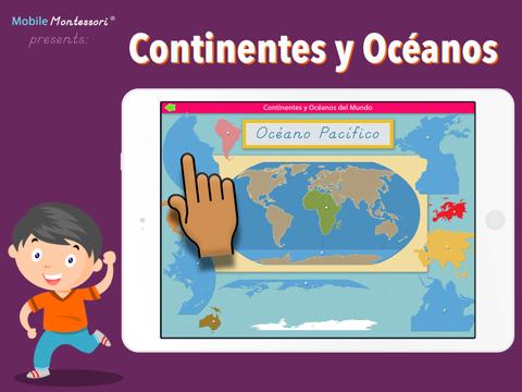 Continentes y Océanos - náhled