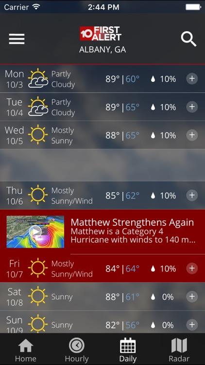 WALB First Alert Weather screenshot-4