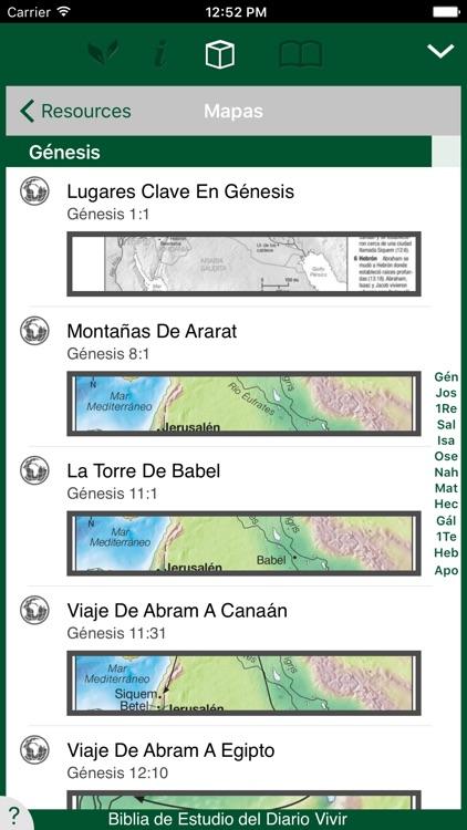 Biblia de Estudio del Diario Vivir screenshot-4