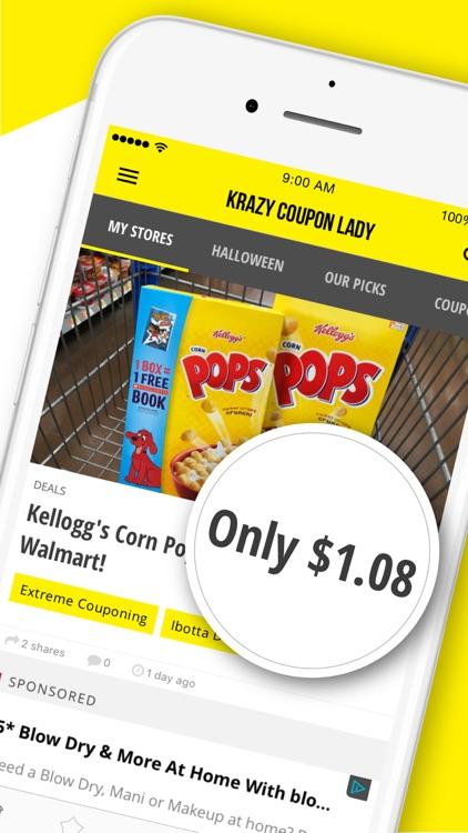Krazy Coupon Lady: Shop & Save screenshot-9
