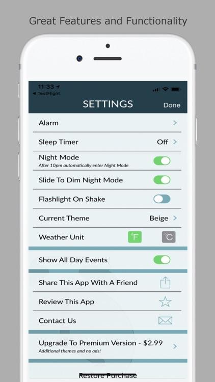 Now Alarm Clock screenshot-4