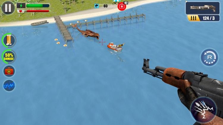 Sea Monster Hunter : Sniping Game screenshot-3