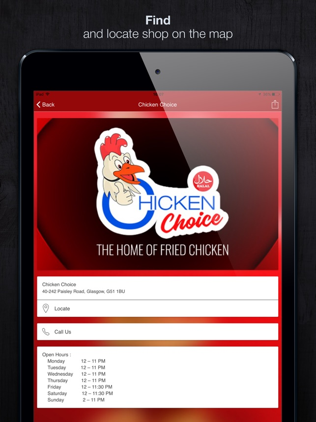 Chicken Choice on the App Store