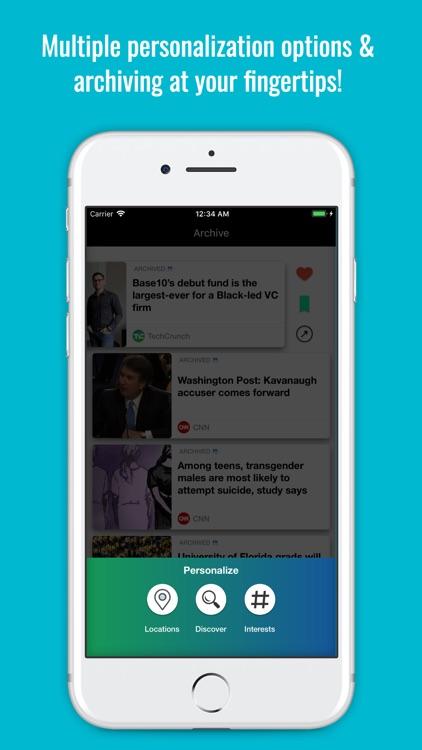 AccuNews: Local News & World screenshot-8