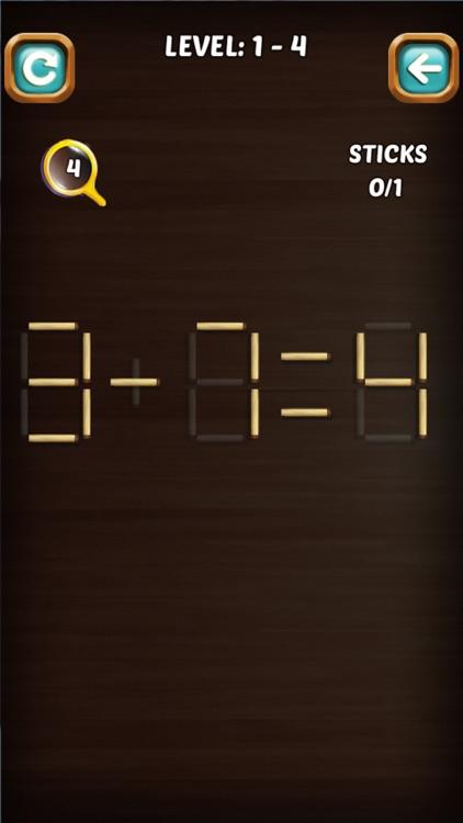 Math Stick Match Puzzle screenshot-6
