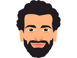 Enjoy Mo Salah stickers emoji