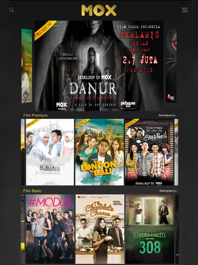 Mox Movies On The App Store
