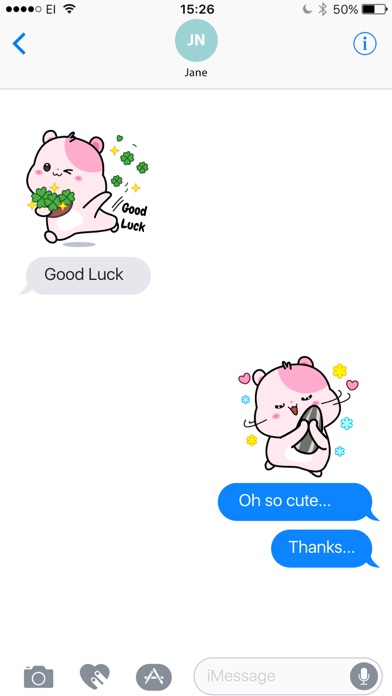 Kiki Hamster Stickers screenshot four