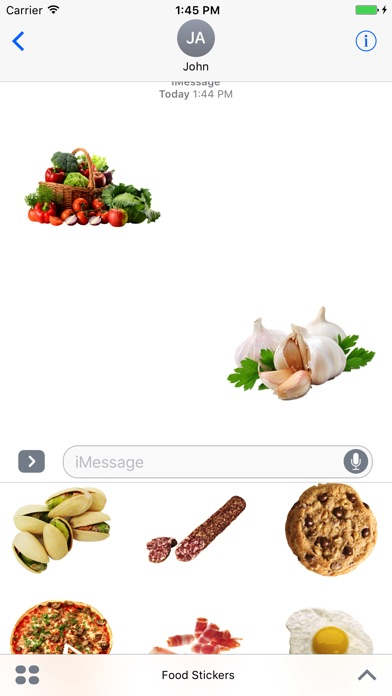 Best Food Stickers screenshot 1