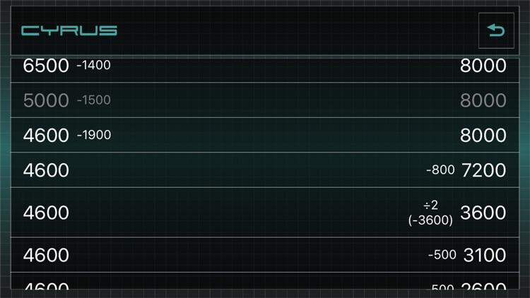 Duel Calculator Cyrus screenshot-7
