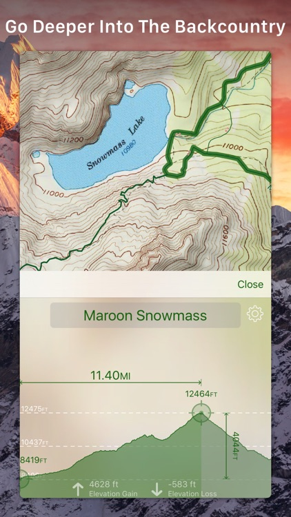 Topo Maps+ screenshot-0