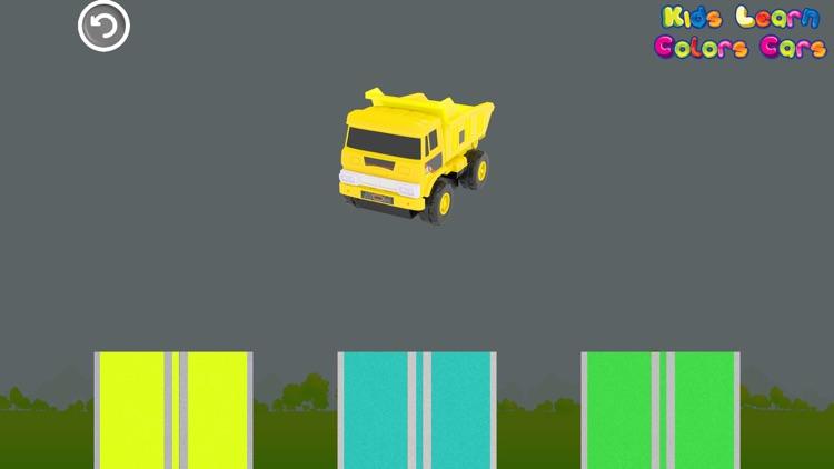 Kids Learn Colors Cars screenshot-5