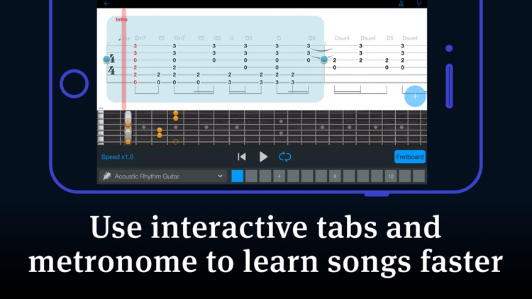 Tabs & Chords - learn and play screenshot-4