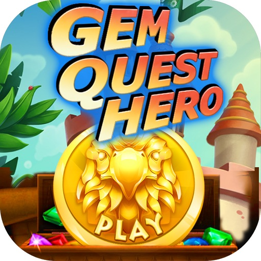 Gem Quest Hero - An ancient mania travel of jewel