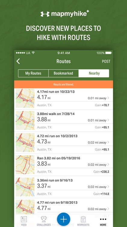 Map My Hike+ by Under Armour screenshot-3
