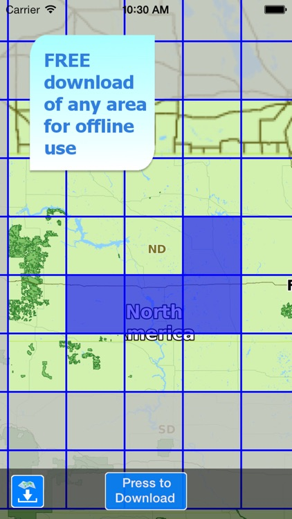 Aqua Map North Dakota Lakes screenshot-5