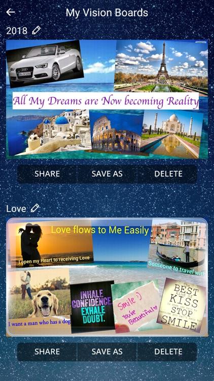 Subliminal Vision Boards ® App
