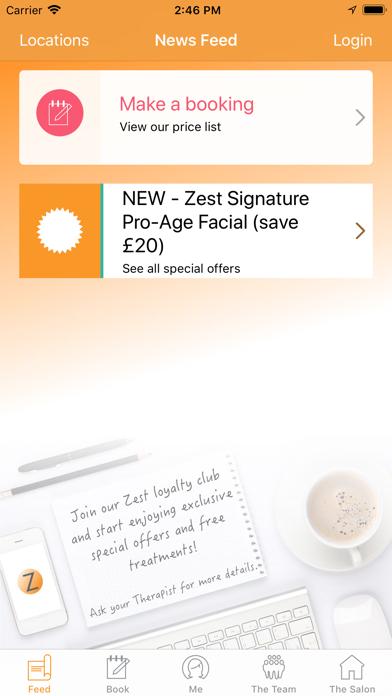 Zest Skin Spa screenshot one
