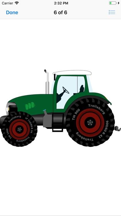 Tractor Stickers screenshot-7