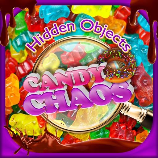 Hidden Objects Candy Chaos & Dessert Food Object