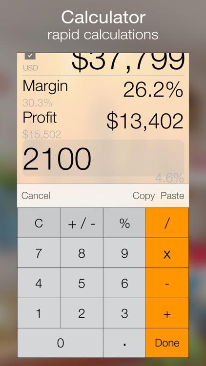 Margin+ (Margin Calculator) screenshot-3