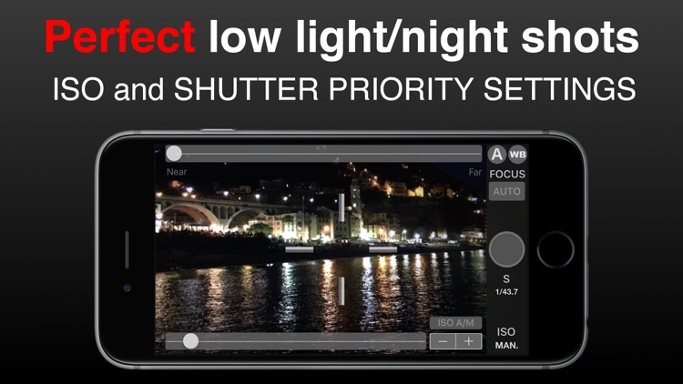 SLR Pro Camera Manual controls