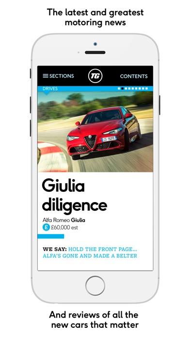 Top Gear Magazine review screenshots