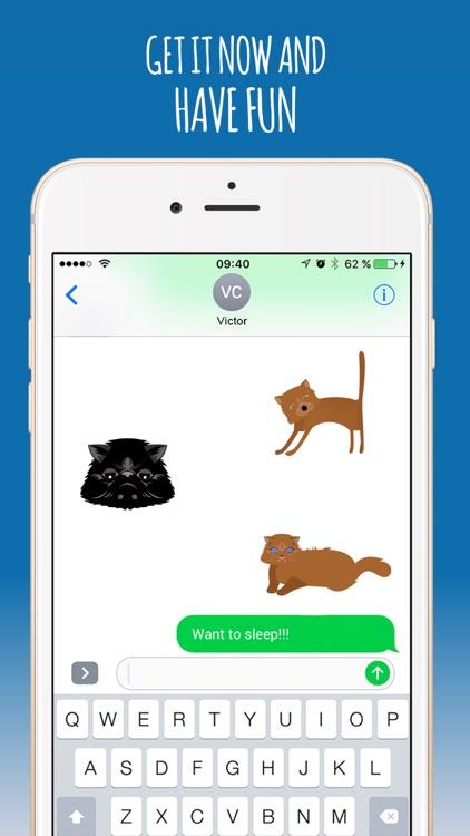 PersianCatMoji-Sticker & Emoji screenshot-4