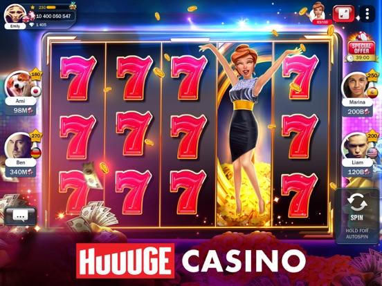 Slot Machines - Huuuge Casino iPad