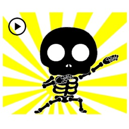 Animated Dancing Skeleton